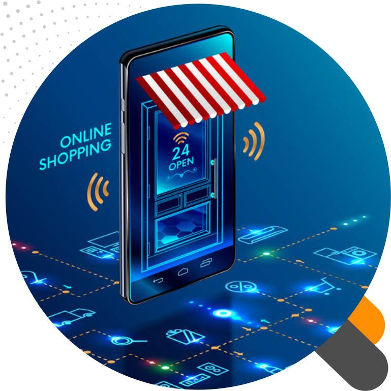 اینترنت مراکز تجاری