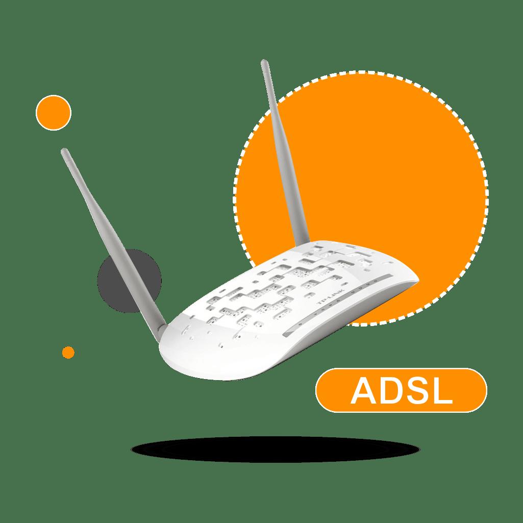 سرویس ADSL تک نت